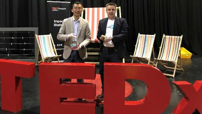 OrganLike at TEDx Glasgow 2018